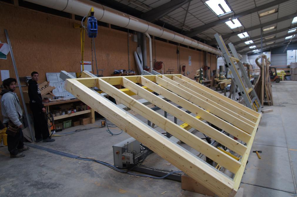 Ossature bois charpente bois fabricant charpente bois for Fabricant ossature bois